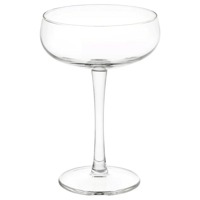Minimalist Home Decor: STORHET Champagne Coupe