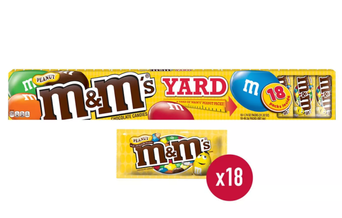 Holiday Gifts Even Angsty Teens Will Love: Peanut M&M's Yard Gift Box