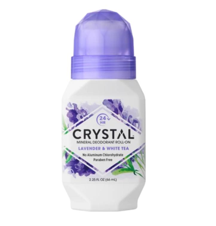 Mineral Deodorant Roll-On - Lavender & White Tea