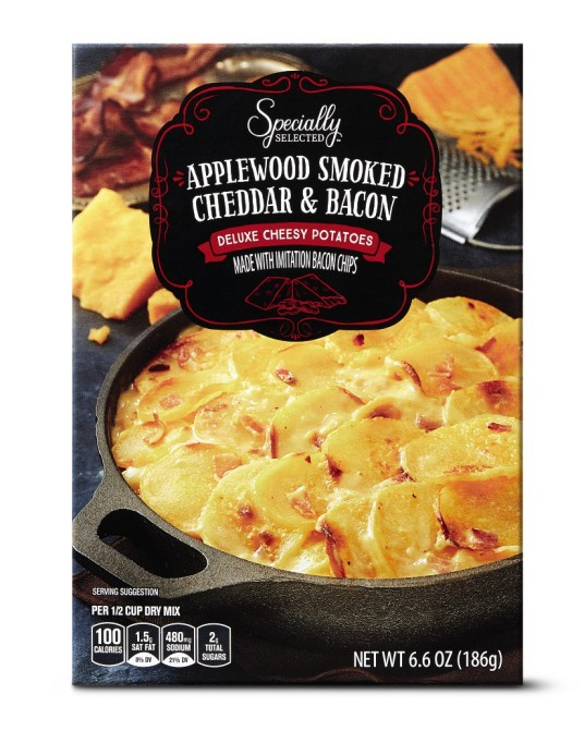 Specially Selected applewood smoked cheddar & bacon potatoes