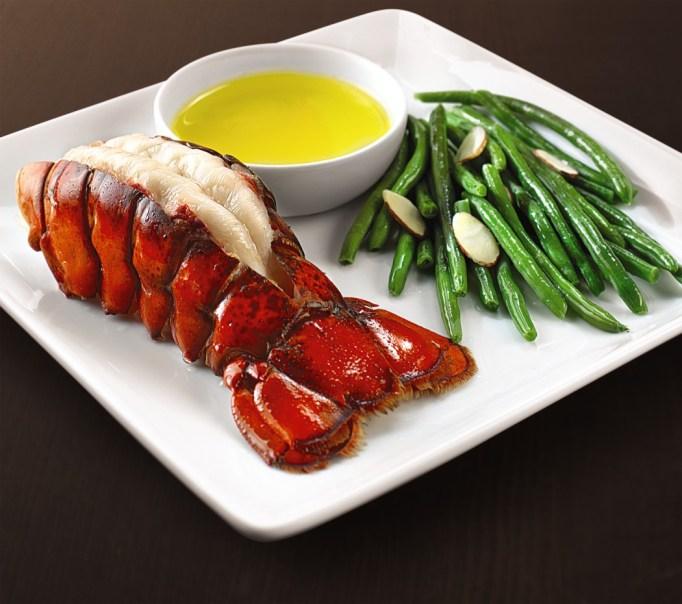 North Atlantic lobster tails
