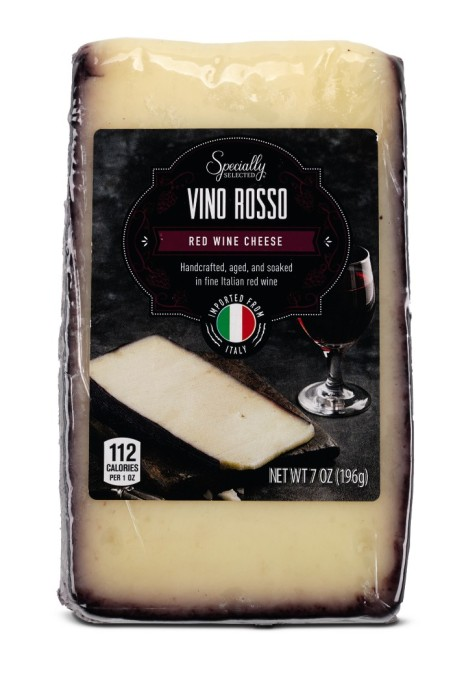 Specially Selected red wine or sparkling wine cheese