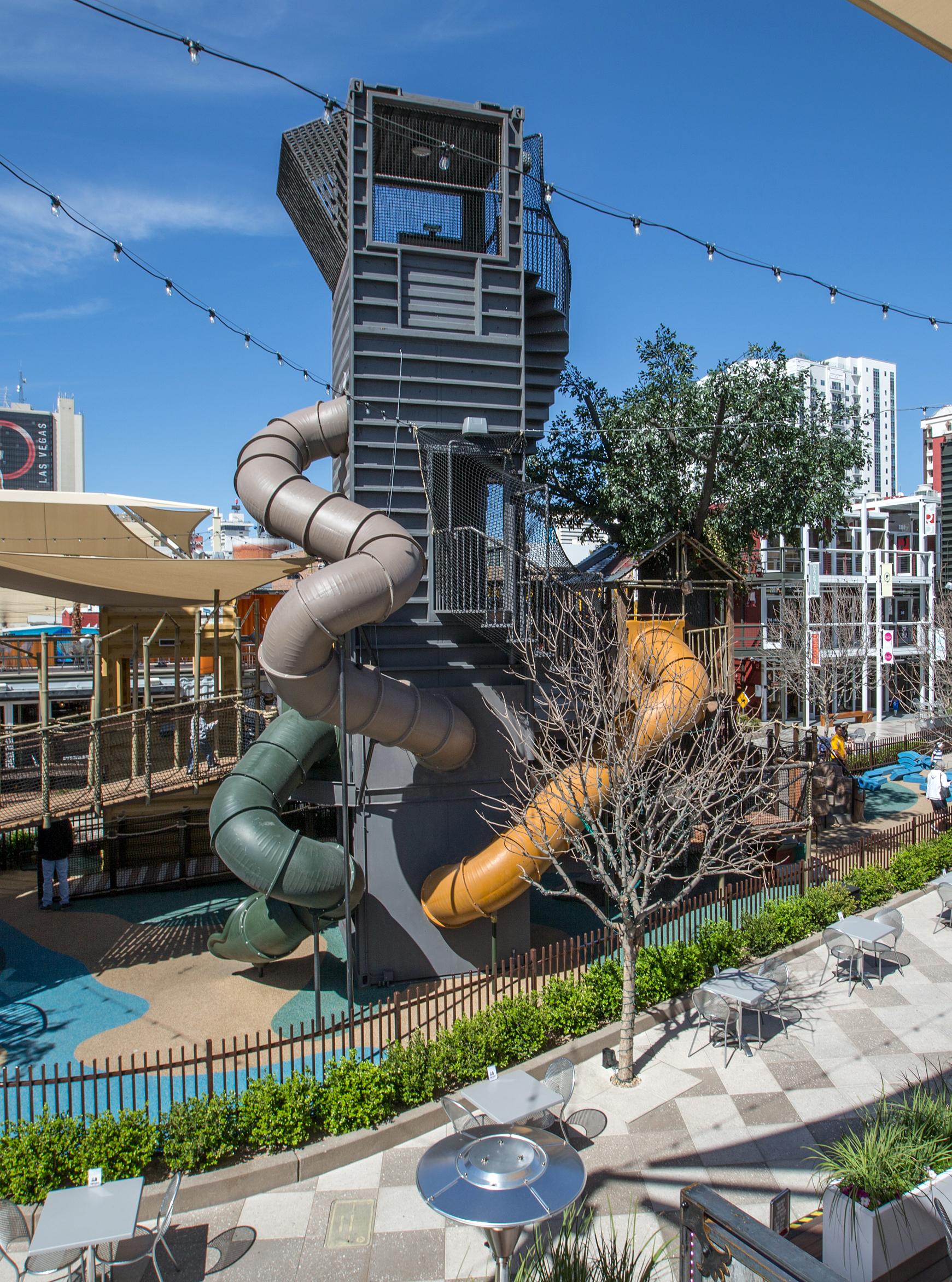 Treehouse playground Las Vegas