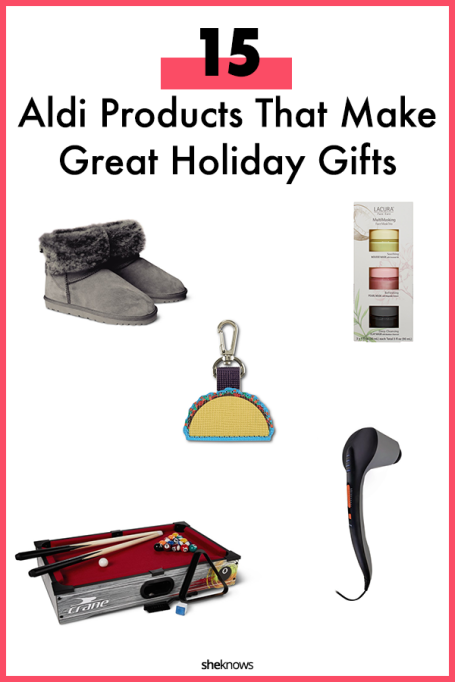 Aldi's Holiday Gifts