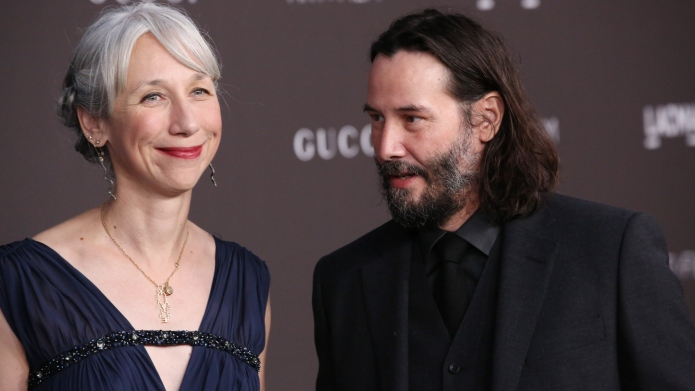 Why Keanu Reeves' Girlfriend Alexandra Grant Doesn't Dye Her Gray Hair Makes Us Like Her Even More