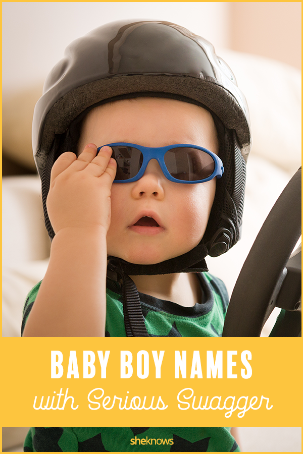 baby boy names with swagger