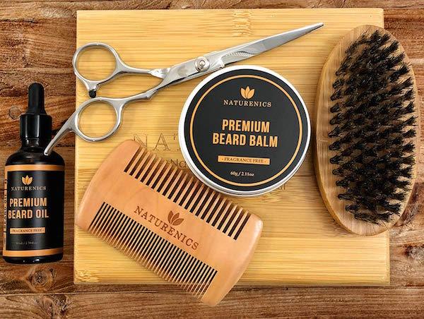 Naturenics Premium Beard Grooming Kit for Men