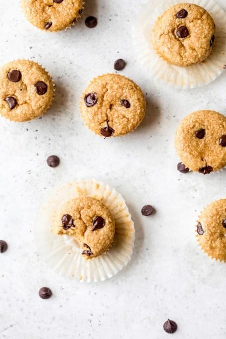 Flourless Peanut Butter Chickpea Muffins