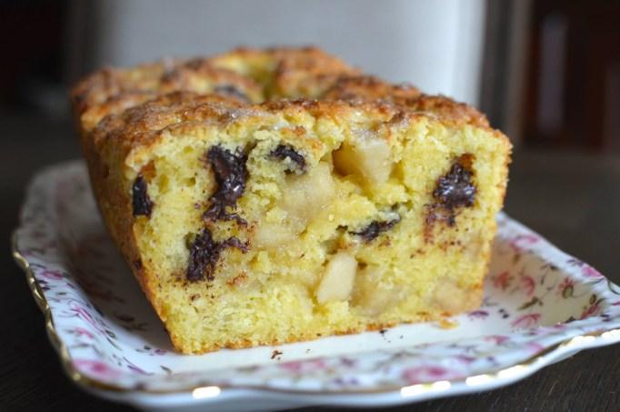 Chocolate Marzipan Scone Loaf