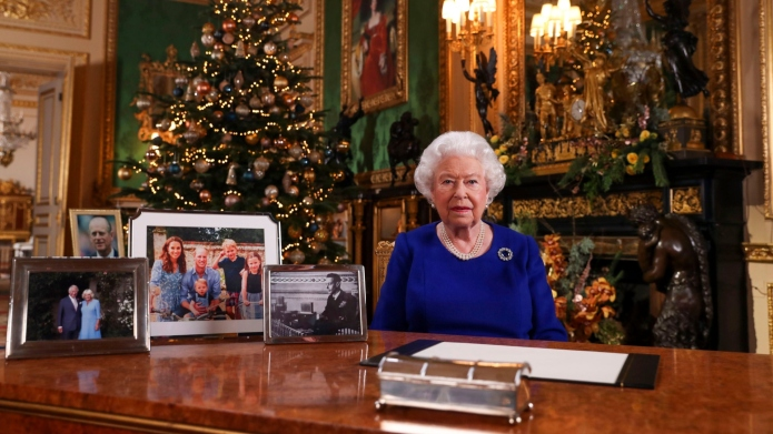 Queen Elizabeth Annual Christmas Speech.