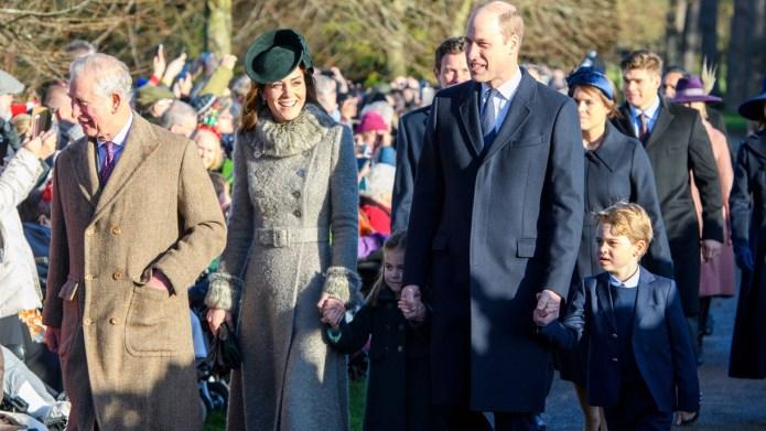 Prince Charles, Kate Middleton, Princess Charlotte,