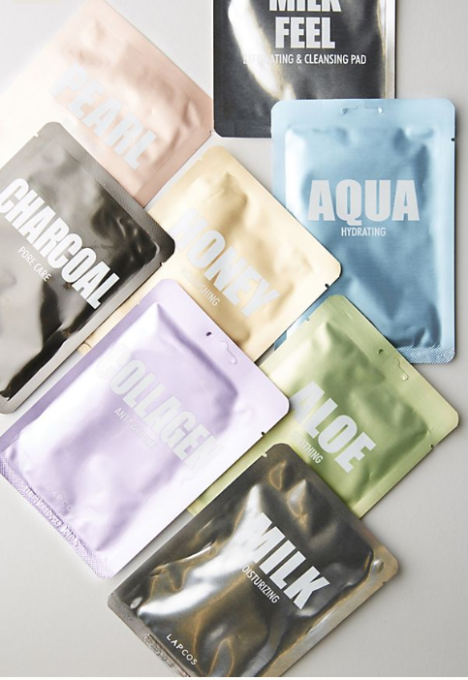 60 Stocking Stuffers for Everyone On Your List: Sheet Mask Set