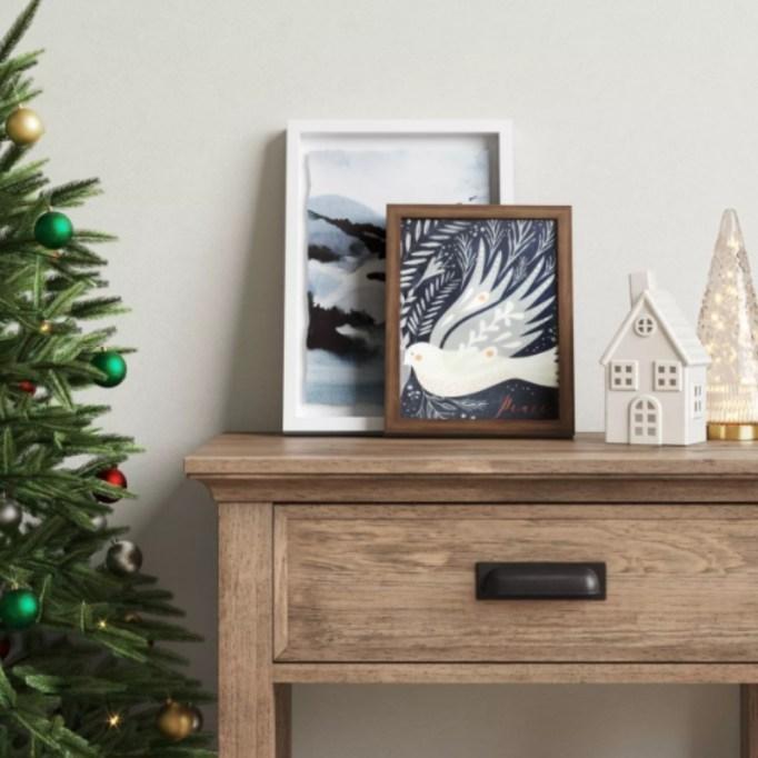 Peace Dove Framed Print — Threshold.