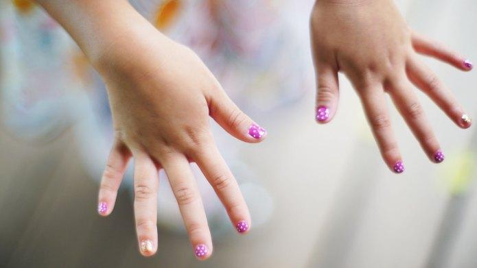 kid nail polish