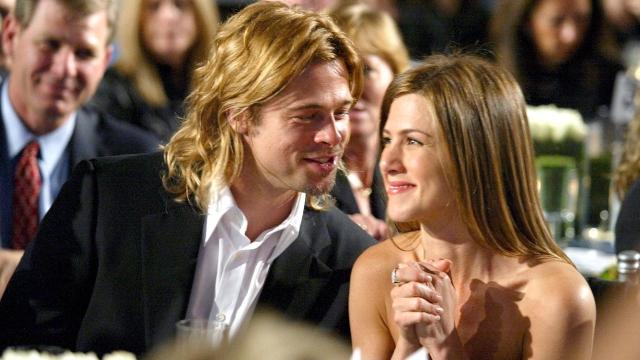Brad Pitt and Jennifer Aniston.