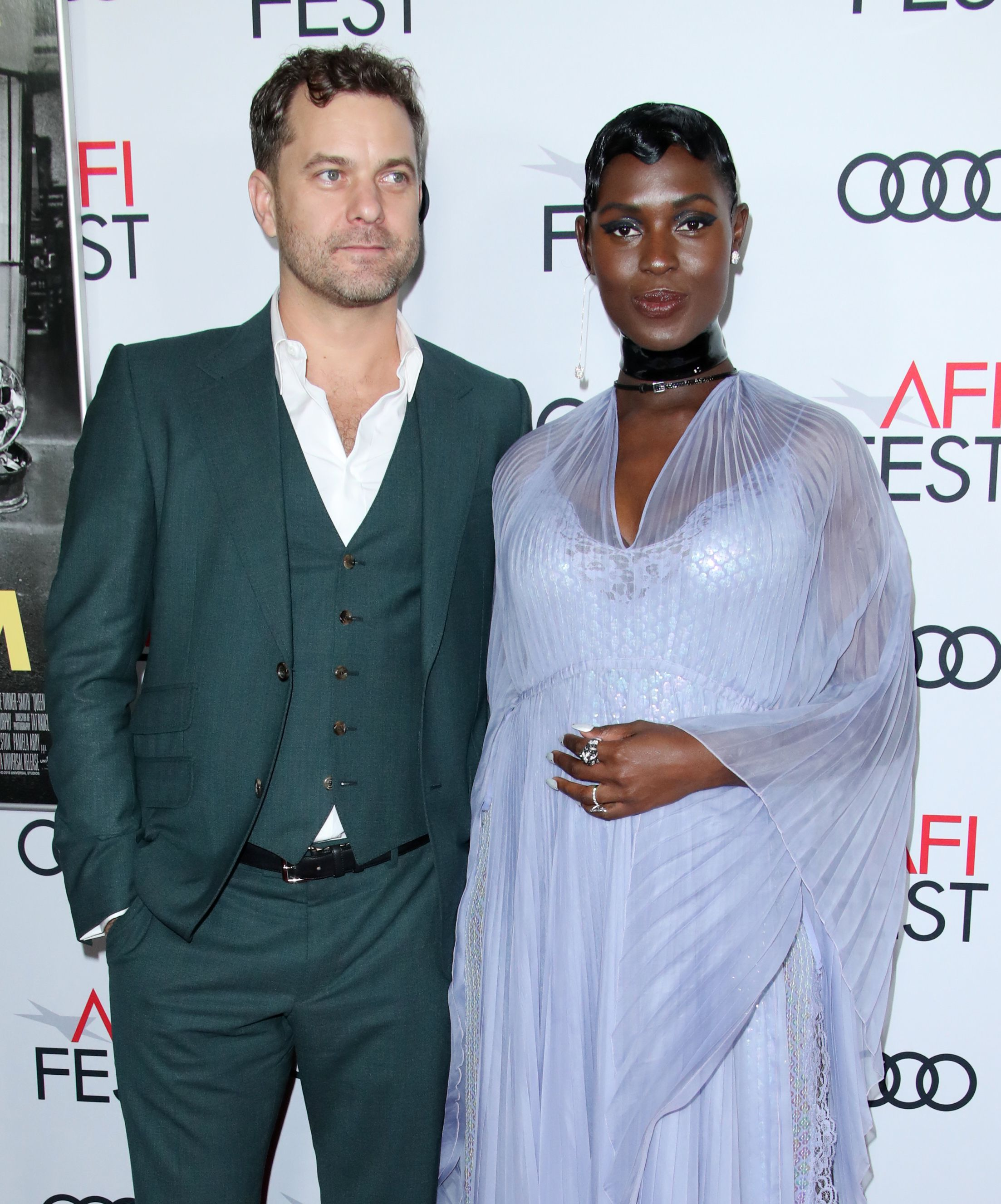 Jodie Turner-Smith and Joshua Jackson 'Queen and Slim' film premiere, Arrivals, AFI Fest, Los Angeles, USA - 14 Nov 2019