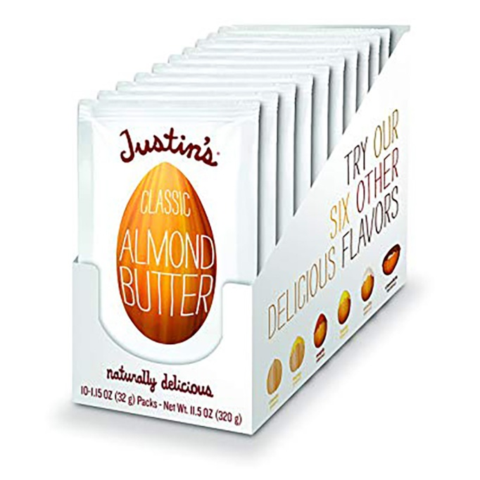 Whole30 Products on Amazon: Justin's Almond Butter Packets