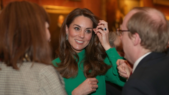 Kate Middleton helped Queen Elizabeth host