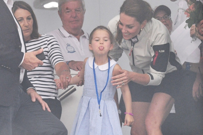 Kate Middleton & Princess Charlotte.