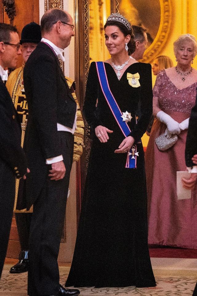 Kate Middleton Diplomatic Dinner.