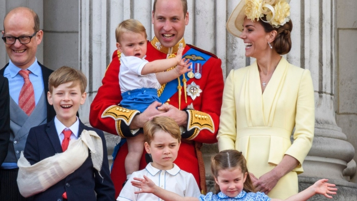 Kate Middleton and family.