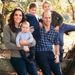 Kate Middleton and Prince William's family portrait.