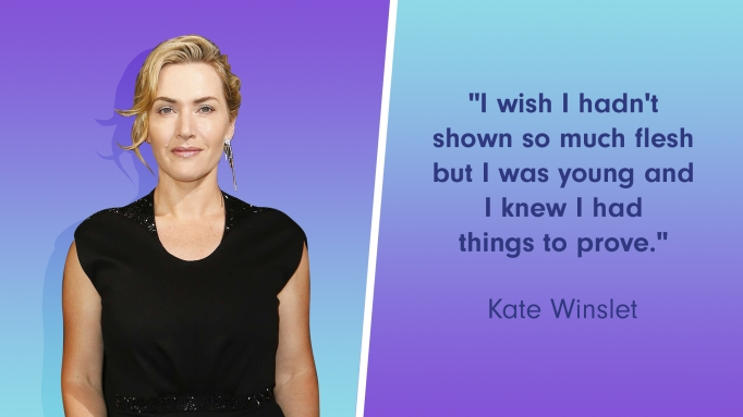 Kate Winslet was pressured to take her clothes off in 'Titanic'