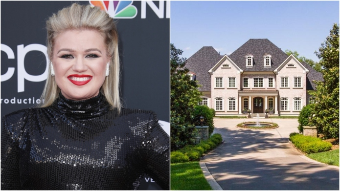 Kelly Clarkson's Tennessee mansion on the