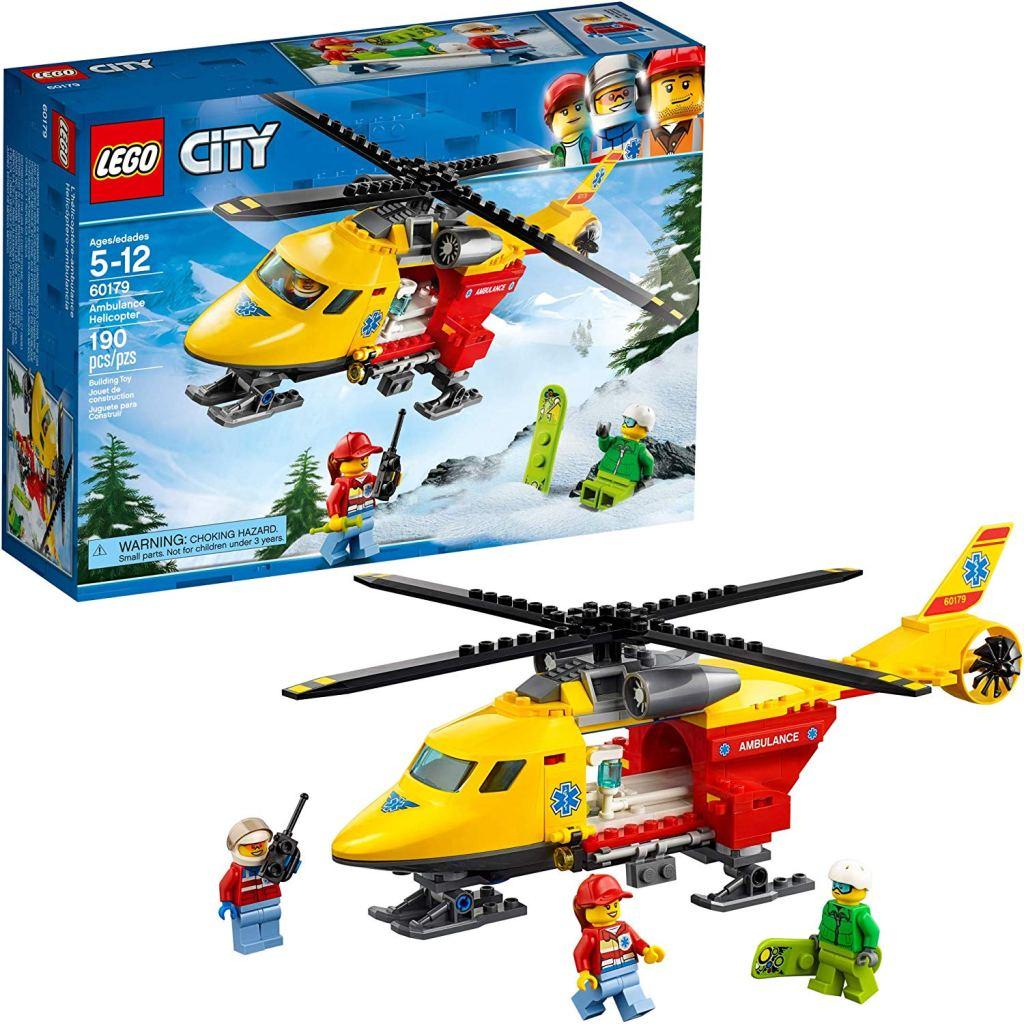 LEGO City Ambulance Helicopter 60179 Building Kit