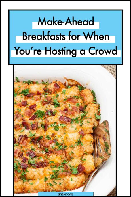 Make-ahead breakfast