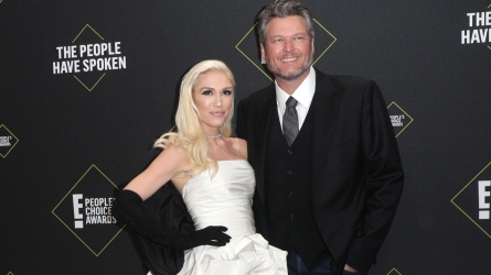 Gwen Steani and Blake Shelton.