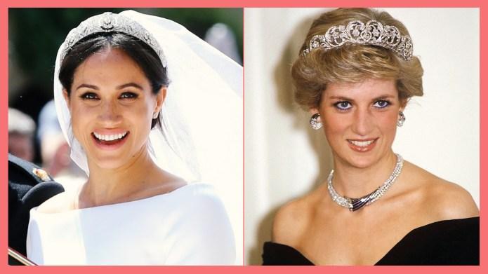 Princess Diana & Meghan Markle