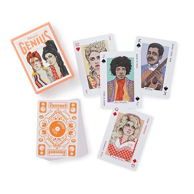 60 Stocking Stuffers for Everyone On Your List: Music Playing Cards
