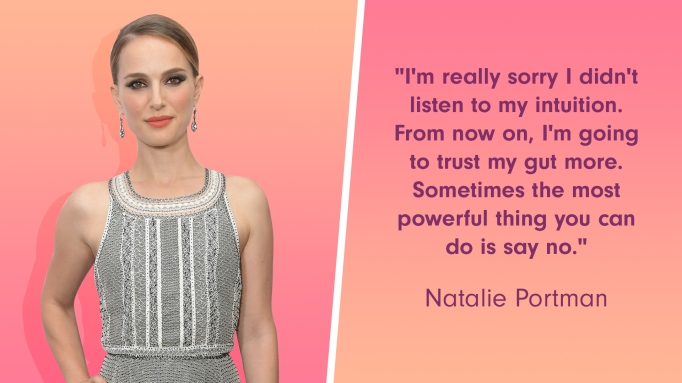 Natalie Portman was once pressured to take her clothes off