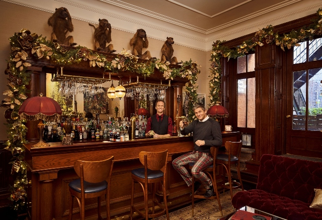 Neil Patrick Harris & David Burkta Holiday Decor.