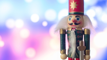 Christmas nutcracker toy soldier traditional figurine