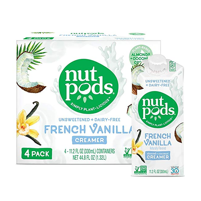 Whole30 Products on Amazon: Nutpods French Vanilla Creamer