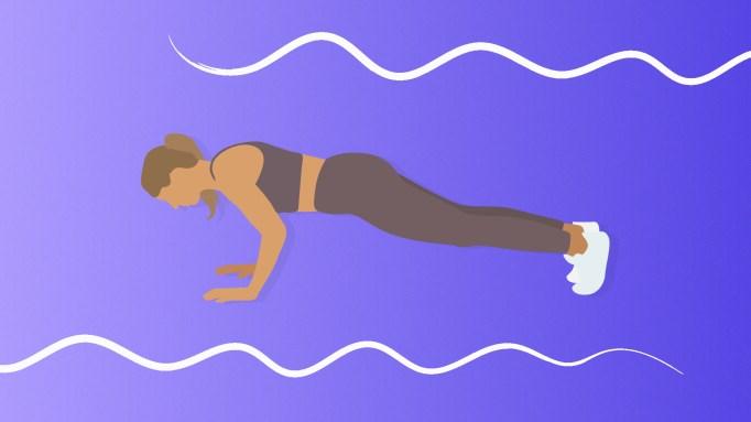 Full Bodyweight Workout | Push Ups