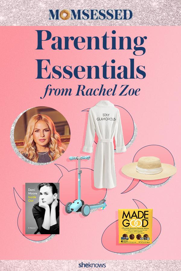 Rachel Zoe Mom essentials
