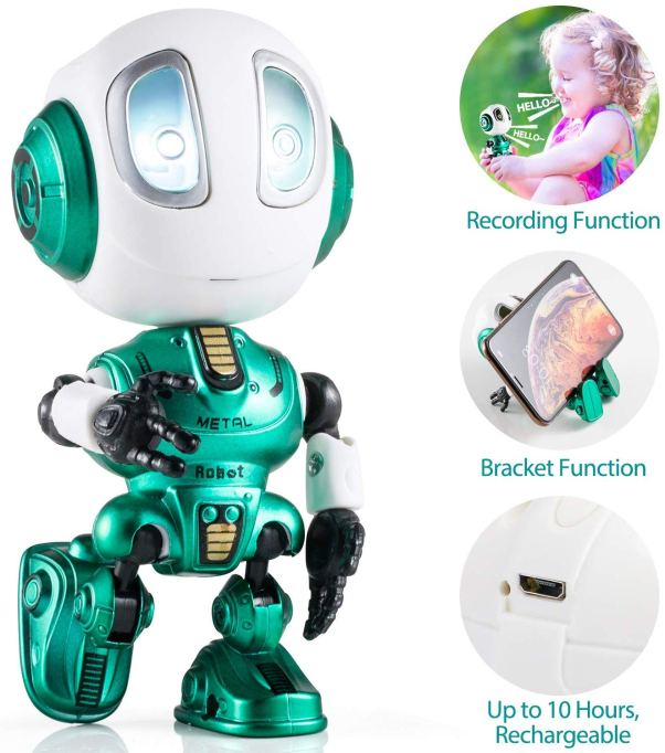 60 Stocking Stuffers for Everyone On Your List: Mini Talking Robot