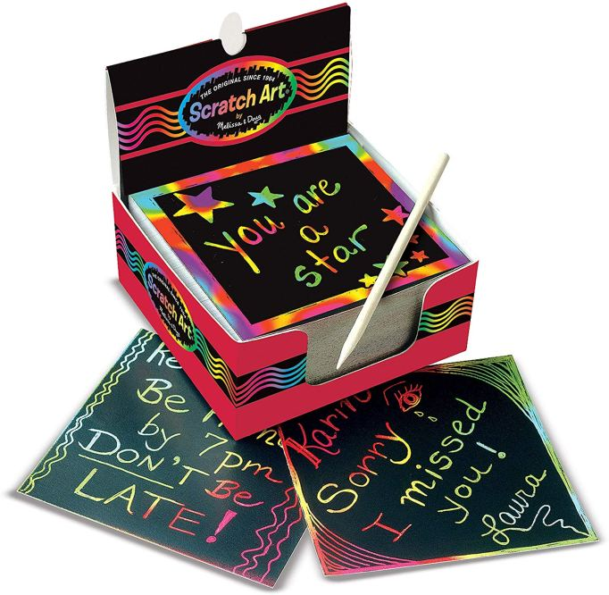 60 Stocking Stuffers for Everyone On Your List: Scratch Art Box