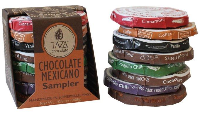 Taza Vegan Chocolate Mexicano Sampler