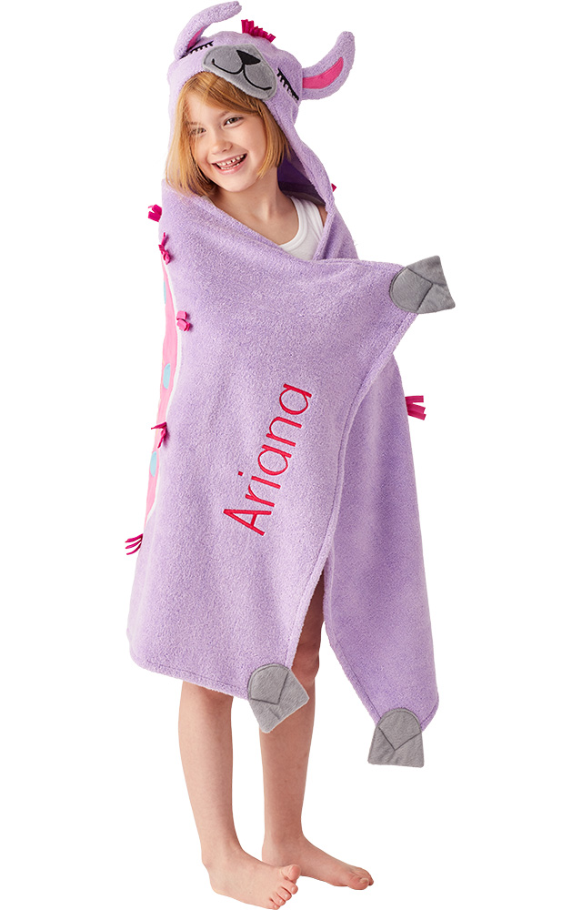 hooded towel gift