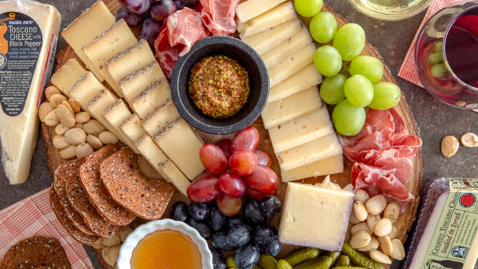 Trader Joe's cheese board