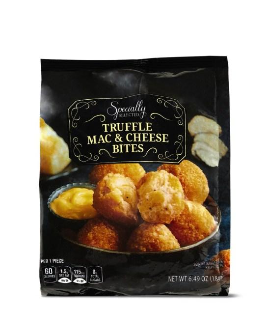 Truffle mac & cheese bites