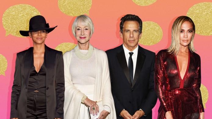 Halle Berry, Helen Mirren, Ben Stiller,