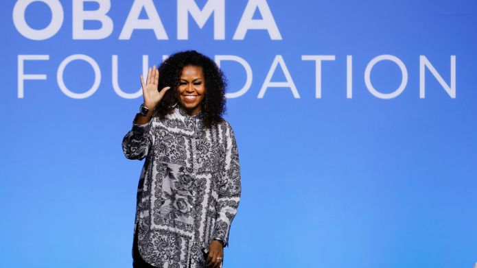 Former U.S. fist lady Michelle Obama