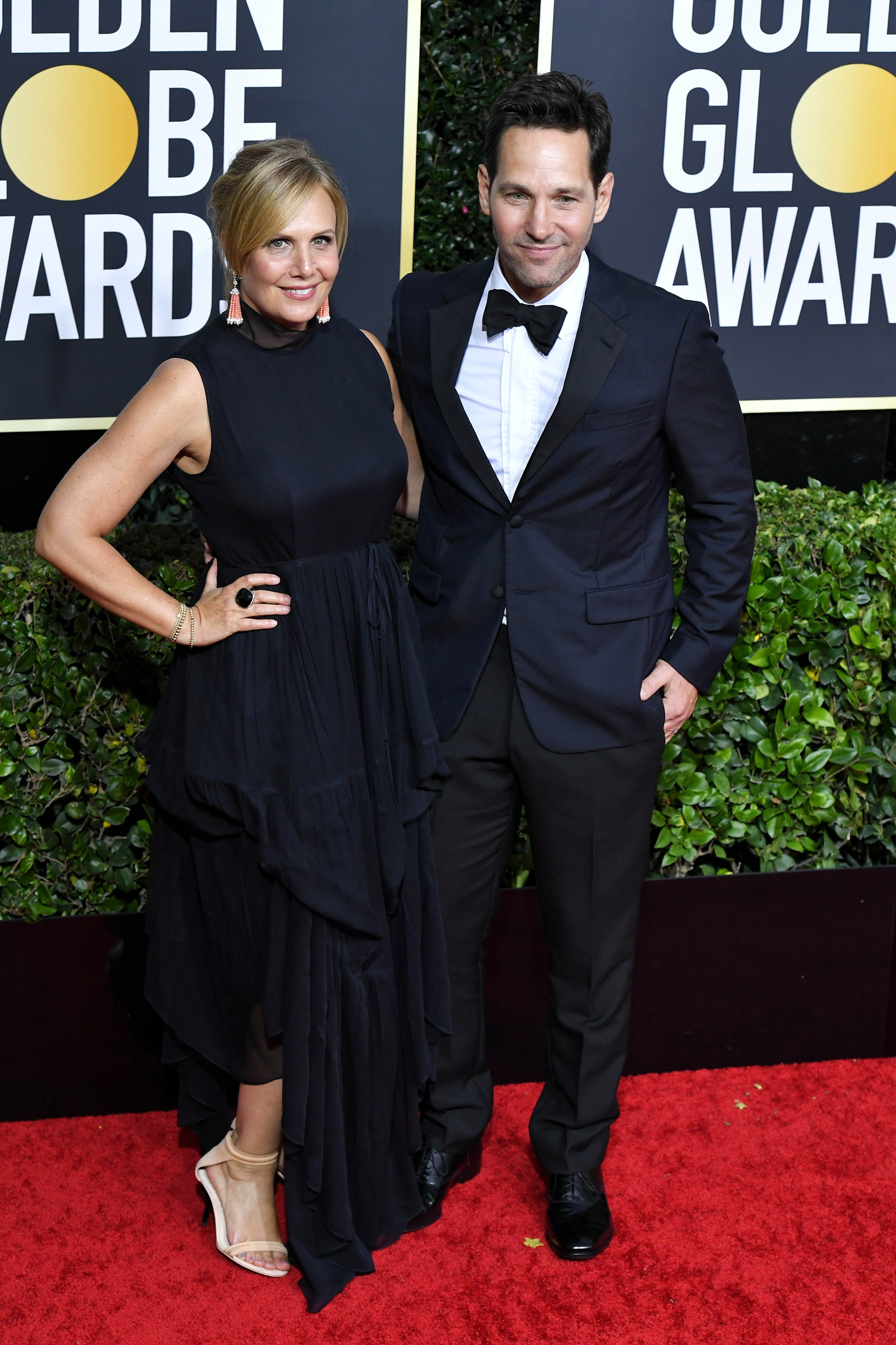 Julie Yaeger and Paul Rudd77th Annual Golden Globe Awards, Arrivals, Los Angeles, USA - 05 Jan 2020