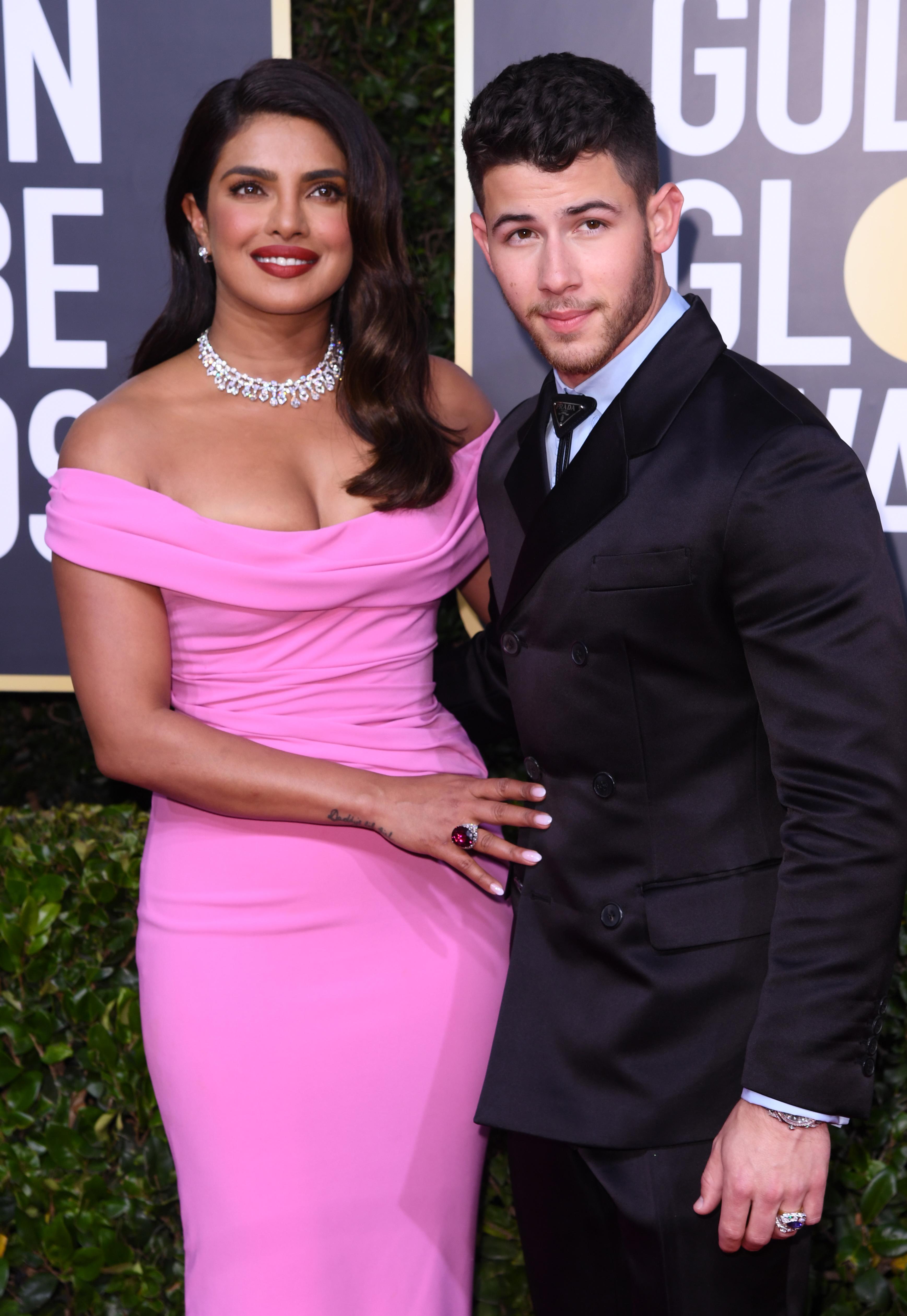 Priyanka Chopra and Nick Jonas77th Annual Golden Globe Awards, Arrivals, Los Angeles, USA - 05 Jan 2020