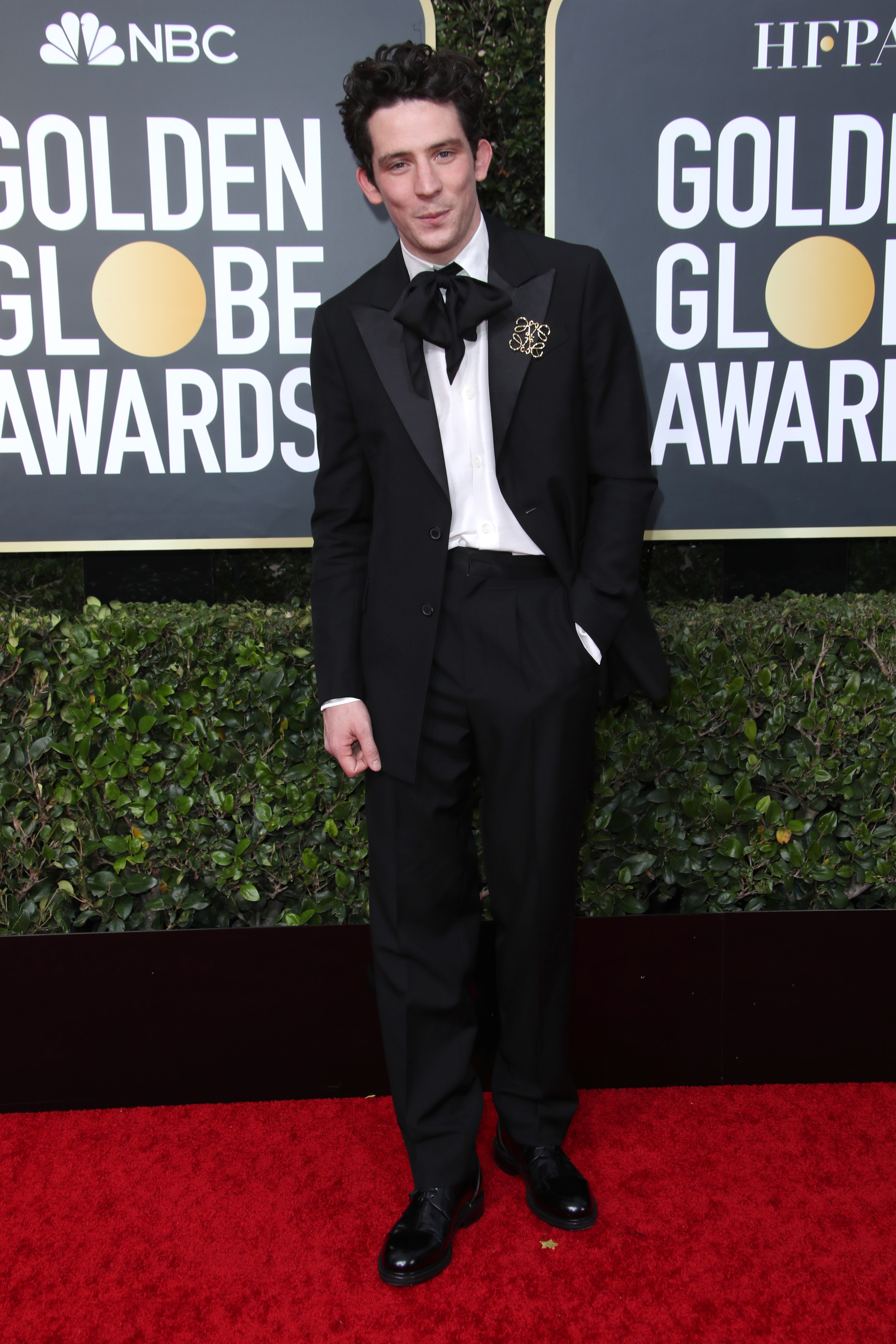 Josh O'Connor77th Annual Golden Globe Awards, Arrivals, Los Angeles, USA - 05 Jan 2020